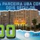 mini banner uba 200 anos